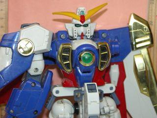 Bandai Gundam series large action robot figure G Gundam 11 Wing Gundam