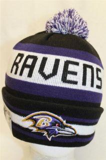 Baltimore Ravens NFL New Era Knit Stocking Hat Cap Beani The JAKE3