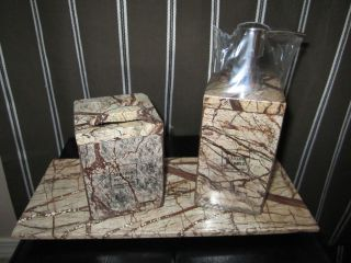 GENUINE MARBLE GRANITE Bathroom Accessories lotion dispenser tray