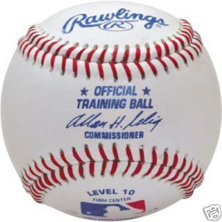 12 Rawlings Official MLB Level 10 Youth Baseballs Brand New