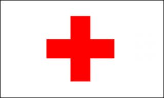 x5 Red Cross International Flag Outdoor Banner Emergency