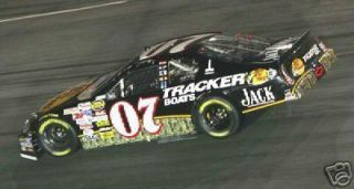 NASCAR DECAL 07 BASS PRO SHOPS TRACKER BOATS 2005 M C DAVE BLANEY 1 24