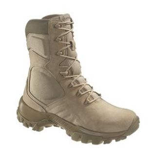 Mens Bates Delta 9 Tan Boots US Military Army Tactical Combat SWAT