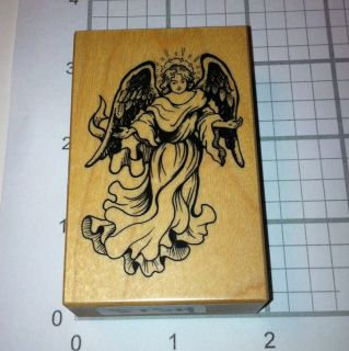PSX E 793 Victorian Angel w/ Halo Christmas Christian Religious Rubber
