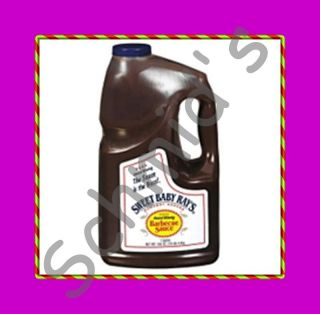 Sweet Baby Rays Barbecue Sauce 1 Gallon Jug