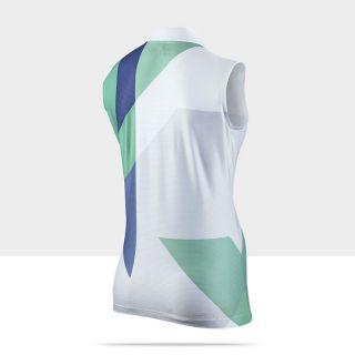 Nike Dri FIT Angular Graphic Womens Golf Polo