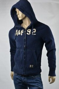 Mens Abercrombie Fitch A F Bartlett Pond Hoodie Sweatshirt Shirt Size