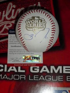 ZITO SIGNED 2012 WORLD SERIES BASEBALL, SAN FRANCISCO GIANTS, PSA/DNA