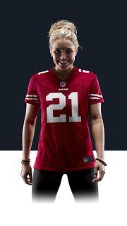 NFL San Francisco 49ers (Frank Gore) Womens Football Home
