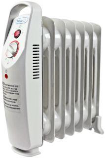 New Portable 700 w Watt Radiator Electric Portable Space Heater Newair