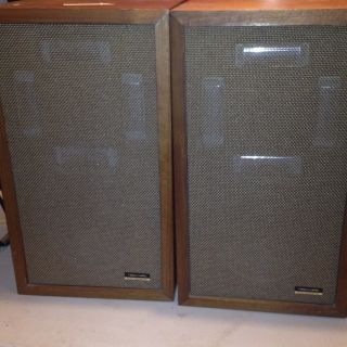 Vintage Realistic Electrostat 2 A Speakers RARE Pair Tested Working