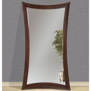 Concave Merlot Leaner Mirror by Bassett Mirror M2464 New