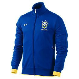 Track jacket da calcio Brasil CBF Authentic N98   Uomo 478293_427_A