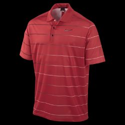TW Dri FIT Ultra Light Stripe Mens Golf Polo