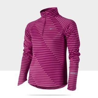 Nike Jacquard Element Half Zip (8y 15y) Girls Running Shirt