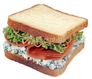 stock photo 10602440 sandwich clipping path