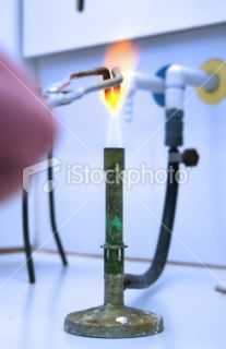 stock photo 12081069 bunsen burner