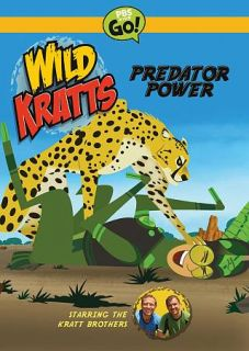 Wild Kratts Predator Power DVD, 2012