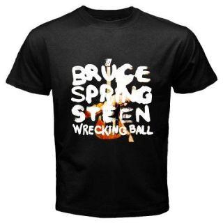 SPRINGSTEEN *Wrecking Ball World Tour 2012 Black T Shirt Size S 3XL