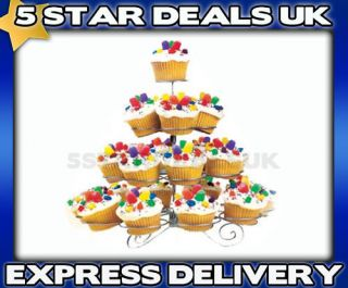 Bob The Baker 4 Tier 23 Cupcake Party Stand Cake Holder