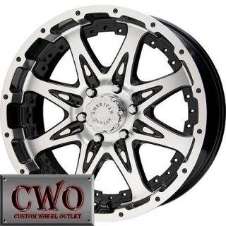 AO Buskshot Wheels Rims 8x165.1 8 Lug Chevy GMC Dodge 2500 2500HD