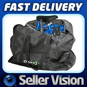 Bicycle Bike Folding Carrier Bag Carry Cover for Dahon 14 20