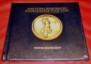 2009 ultra high relief double eagle gold coin in Coins US