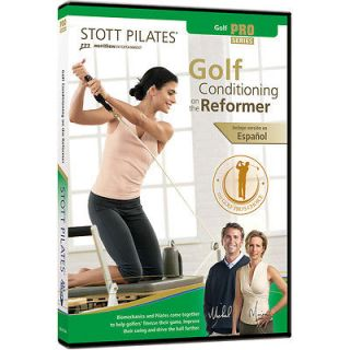 stott pilates dvd golf conditioning on the reformer official