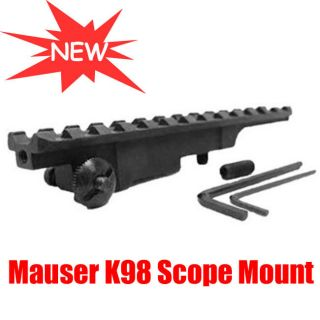 New Tactical MAUSER K98 WEAVER SCOPE MOUNT FITS MOST MAUSER K98 RIFLES
