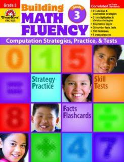 Building Math Fluency, Grade 3 by Evan Moor 2008, Paperback