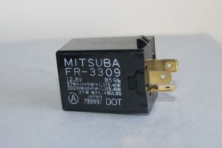 Honda Acura flasher turn signal hazard emergency Mitsuba FR 3309 RELAY