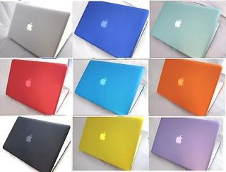 11 Colors Rubberized Hard Case Cover for Apple Macbook Pro 15 15.4