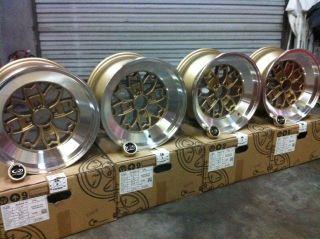 ROTA Wheels Aleica 15x8 (4x100+10mm, 67.1 Hub, Royal Gold) Set of 4