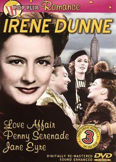 Irene Dunne   Love Affair Penny Serenade Jane Eyre DVD, 2006