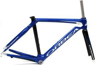 2009 ORBEA ONIX 51cm Road Bike Frameset Full Carbon W/Fork Blue NEW