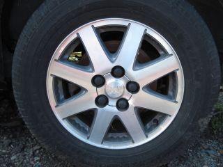 2002 04 Buick Rendezvous Wheel 8 Spoke Aluminum 16 option