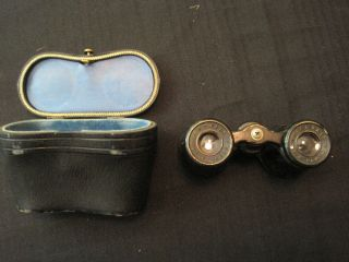 antique binoculars with case lemaire fabt paris time left $