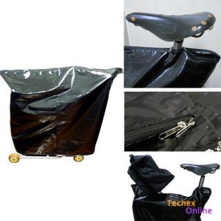 New Storage Bag Folded bike light anti dust cover for Brompton BLACK