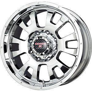 New 18X9 8x170 LEVEL 8 Gardian Chrome Wheels/Rims 8 Lug Ford F250