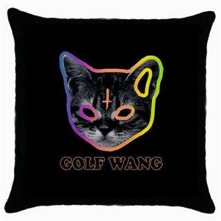 OFWGKTA Golf Wang Wolf Gang Tyler The Creator Odd Future Throw Pillow