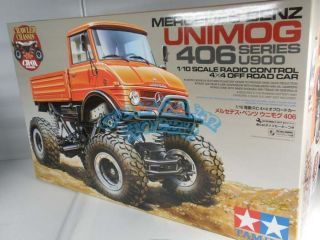 tamiya 58414 rc mercedes benz unimog 406 cr01 1 10