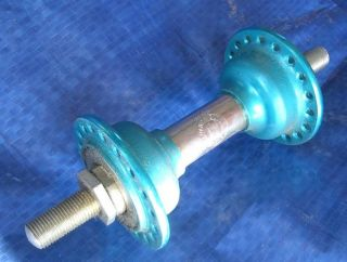 NOS Old School BMX Blue Chair Front 36 Hole Hub Made in Japan