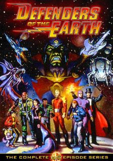 Defenders of the Earth The Complete 65 Episode Series DVD, 2010, 5