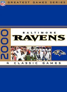 NFL Greatest Games Series Baltimore Ravens 2000 Playoffs DVD, 2007, 4