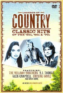 Legends of Country Classics Hits of the 50s, 60s, 70s DVD, 2007