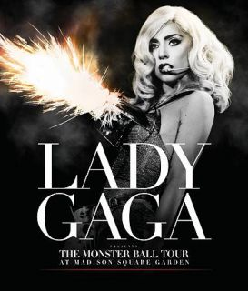 Lady Gaga The Monster Ball Tour at Madison Square Garden Blu ray Disc