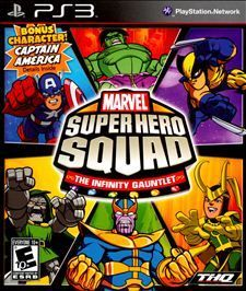 Marvel Super Hero Squad The Infinity Gauntlet Sony Playstation 3, 2010