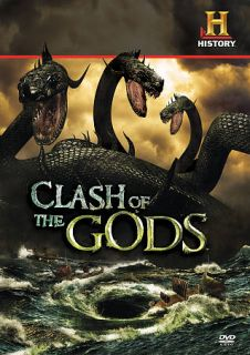 Clash of the Gods The Complete Season 1 DVD, 2010, 3 Disc Set