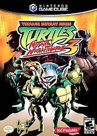 Teenage Mutant Ninja Turtles 3 Mutant Nightmare Nintendo GameCube