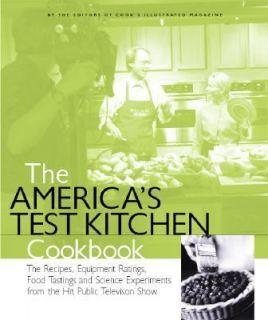 Americas Test Kitchen Cookbook Hardcover